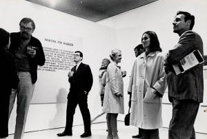 John Baldessari exhibition at Molly Barnes Gallery