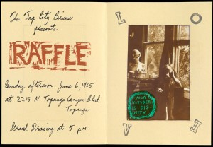 "Announcement, ""Raffle"" at Tap City Circus"