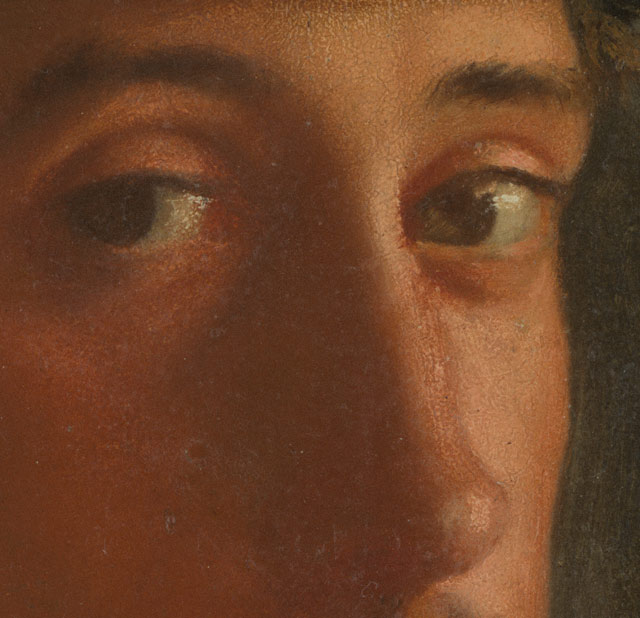 Eyes (detail) - can you guess the artist?