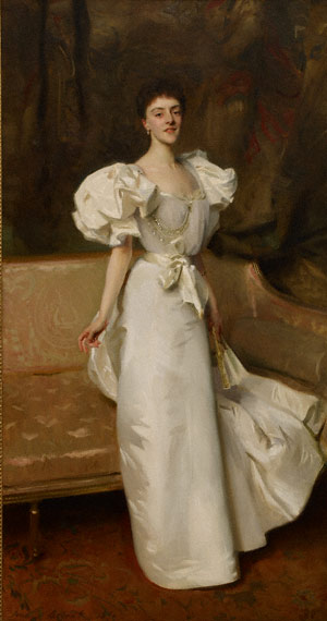 Portrait of Therese, countess Clary Aldringen / Sargent