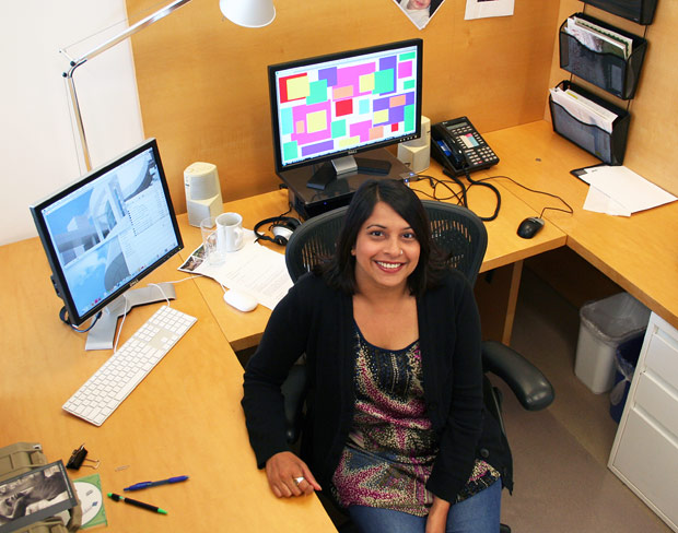 Tina Shah, Web content administrator at the J. Paul Getty Trust
