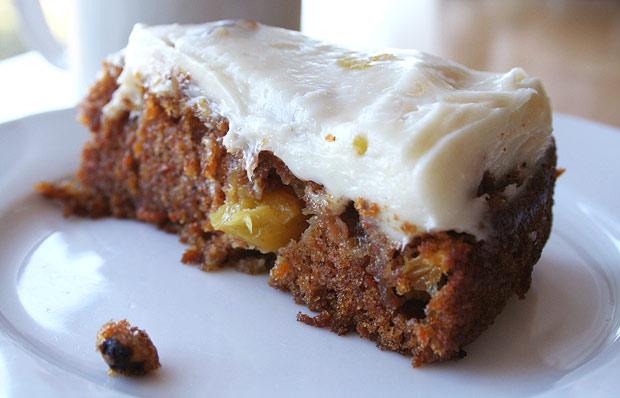 Mrs. Garrett's Carrot Cake, A Slice of Getty Villa History