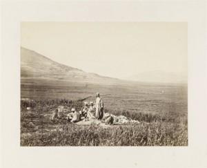Jacob's Well, near Shechem, Frank Mason Good (English, 1839–1928), 1860s. Albumen print, 6 1/8 x 8 1/8 in.