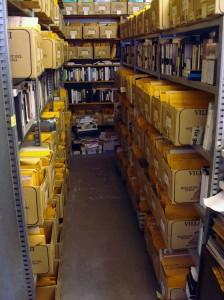 Artists' files in the Szeemann archive