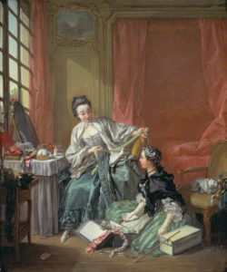 The Milliner / Francois Boucher