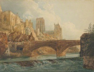 Durham Cathedral and Castle / Thomas Girtin