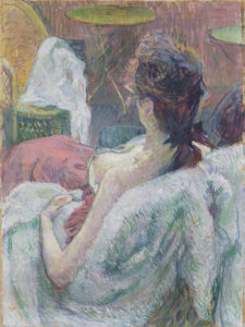 The Model Resting / Henri de Toulouse-Lautrec