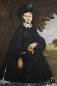 Portrait of Madame Brunet / Edouard Manet