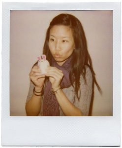 Polaroid portrait of Jennifer S. Li