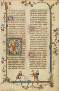 Initial C: The Massacre of the Innocents in a breviary / French