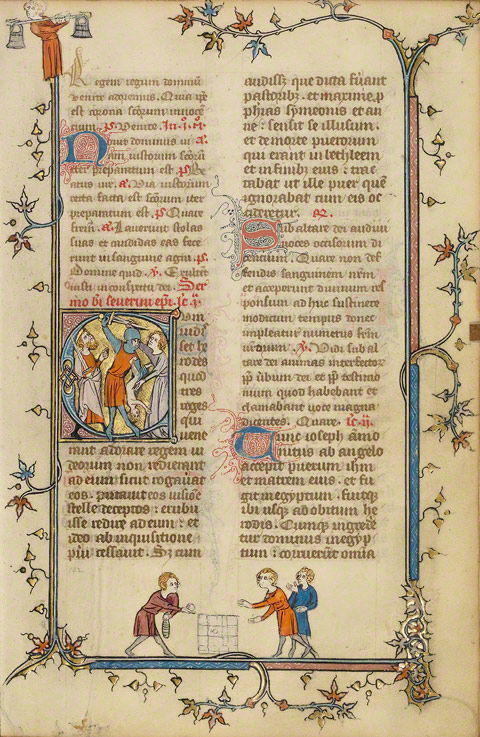 The Manuscript Files: Medieval Children's Games