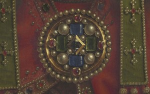 Ghent Altarpiece - Brooch detail
