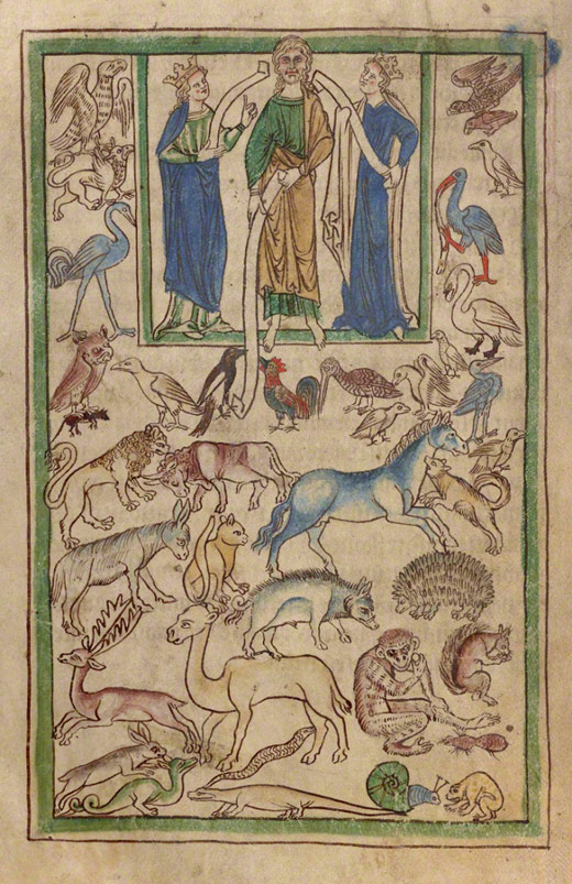 The Manuscript Files: An Impish Ape in a Medieval Zoo