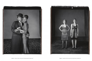Spread from Prom by Mary Ellen Mark, published by Getty Publications