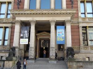 PSTinBerlin: The Martin-Gropius-Bau in Berlin, with the Kunst in Los Angeles banner flying high