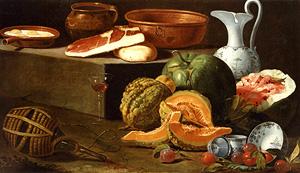 Natura morta di cucina (Kitchen Still Life) / Cristoforo Munari