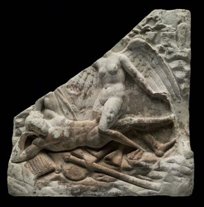 Relief with a Man and a Siren / Roman