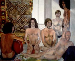 The Turkish Bath / Sylvia Sleigh