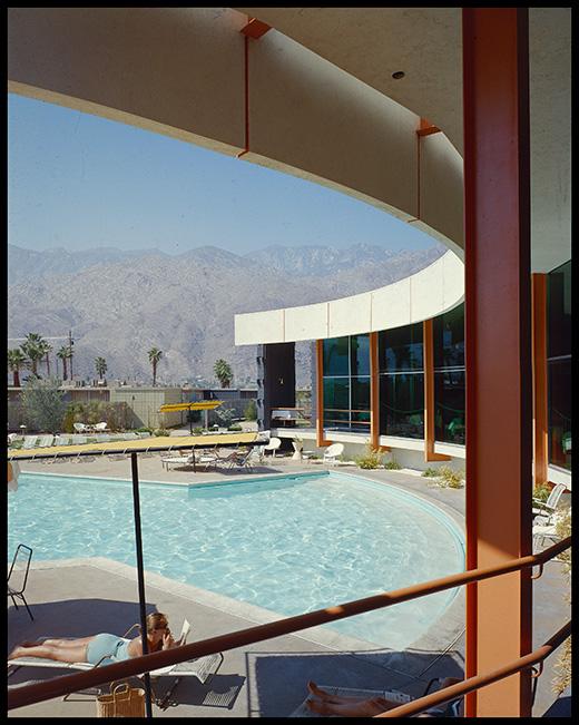 Ocotillo Lodge, Palm Springs - Architect William Krisel - Julius Shulman / The Getty Research Institute