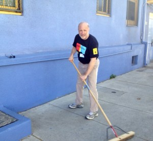 Jim Cuno at the Getty's Day of Service, March 11, 2013