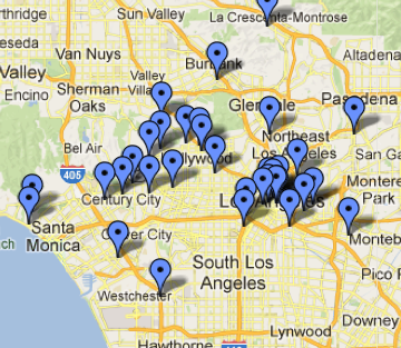 Our L.A., Mapped
