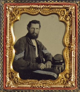 Portrait of a Confederate Soldier/ unknown photographer