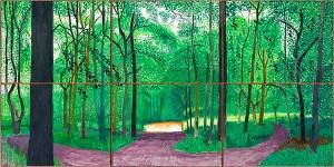 Woldgate Woods, 26, 27 & 30 July 2006 / David Hockney