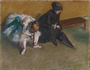 Waiting / Degas