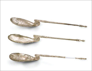 Spoons with Inscriptions / Byzantine