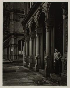 Arches of the Dodd Building / Minor White
