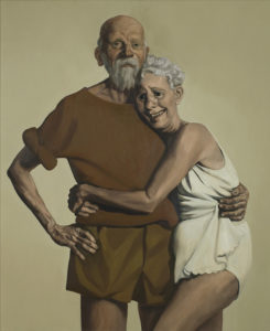 Old Couple / John Currin