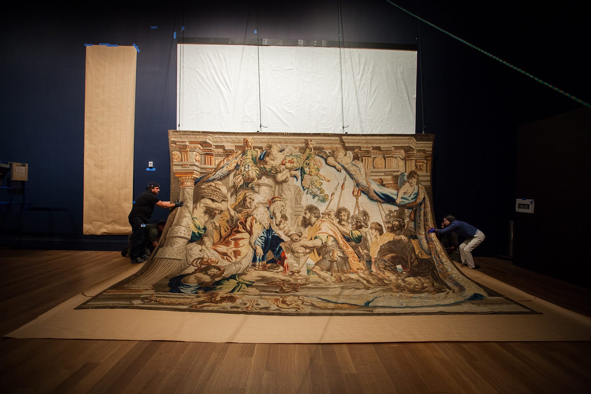 Peter Paul Rubens Unrolls in L.A.