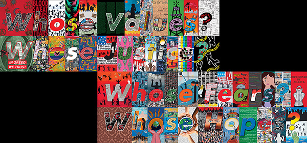 Whose Values / Barbara Kruger and L.A. high school students