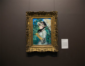 Spring as installed at the Getty Museum / Edouard Manet