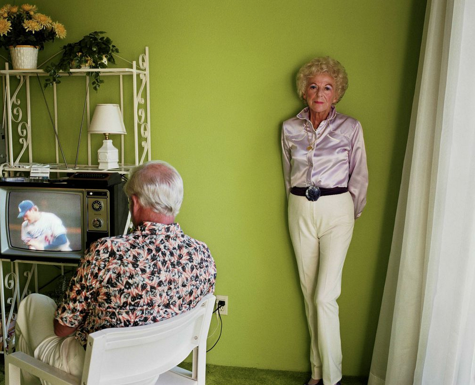 Larry Sultan's Visions of Suburbia