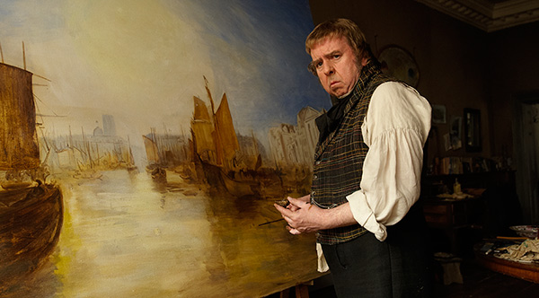 """Mike Leigh's """"Mr. Turner"""" Shows Art as Hard Work"""