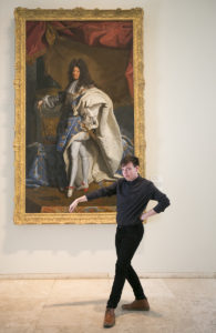 Tristan as King Louis XIV - MusePose