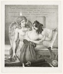 The Genius of Lithography / Nicolas Henri Jacob