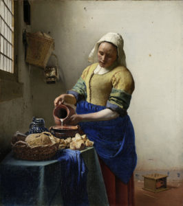 The Milkmaid / Vermeer