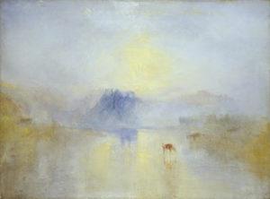 Norham Castle, Sunrise / JMW Turner