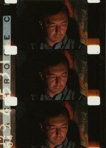 Still of Jasper Johns from Galaxie, Gregory R. Markopoulos