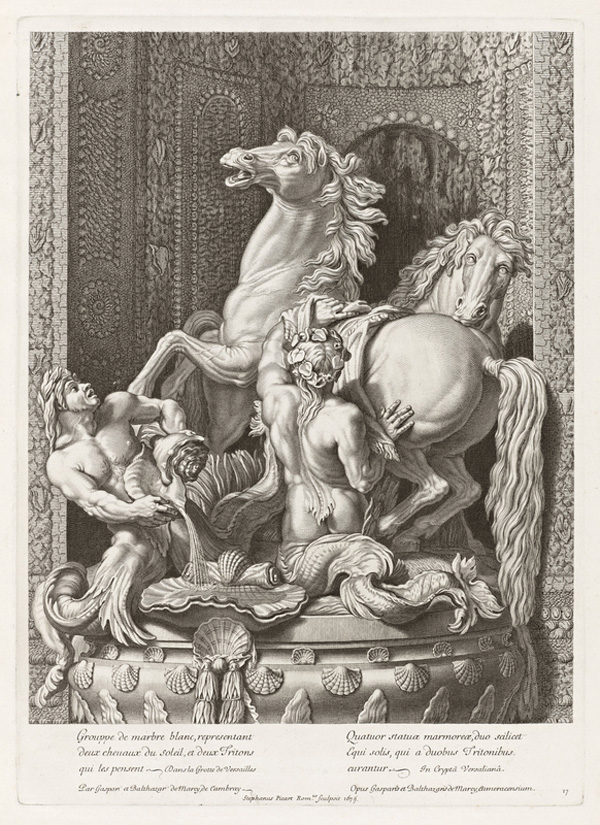 Horses of Apollo / Etienne Picart