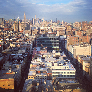 View of NYC from the Artsy offices