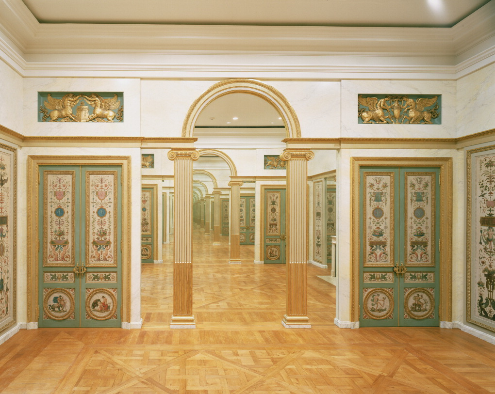 Paneled room / Claude-Nicolas Ledoux