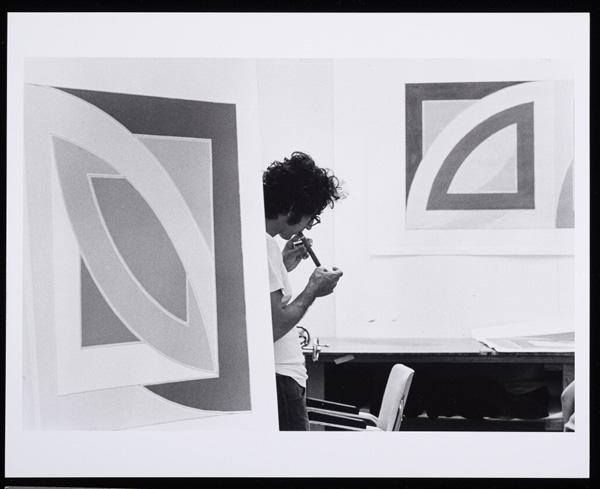 Frank Stella, 1969, Malcolm Lubliner