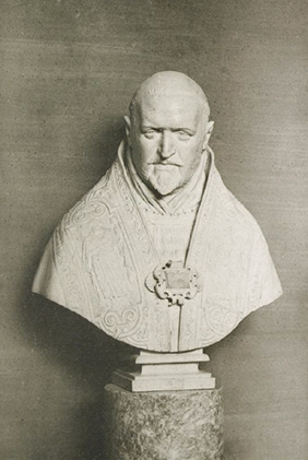 Photo of Bernini's Pope Paul V published in an 1893 auction catalogue
