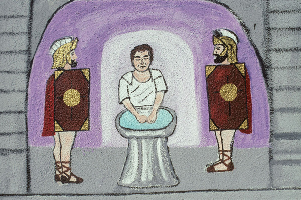 Pontius Pilate Washing His Hands