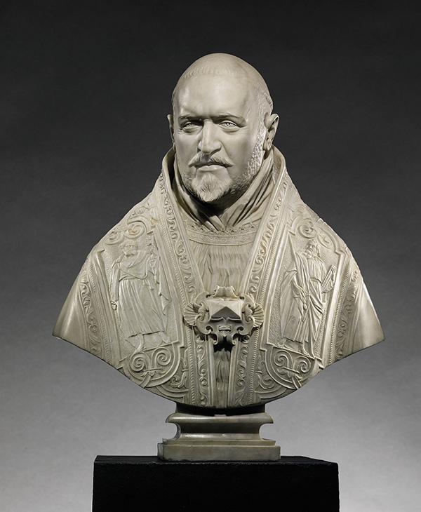 Bust of Pope Paul V / Gian Lorenzo Bernini