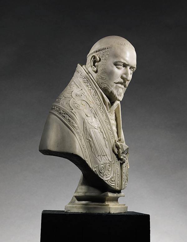 Bust of Pope Paul V, profile view / Gian Lorenzo Bernini
