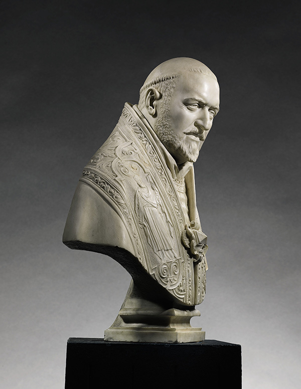 Bust of Pope Paul V, profile view / Gian Lorenzo Bernini